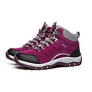 Фиолетовый / Темно-красный-Женский-Для занятий спортом-Искусственная замша-На плоской подошве-Удобная обувь