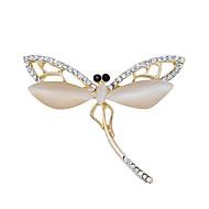 móda nová kvalita vážka opál brože nádherné strany na svatbu