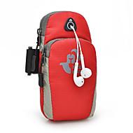 Felkarkötő Cell Phone Bag mert Fitnessz Futás Kocogás Utazás Kerékpározás Sportska torbaVízálló Gyors szárítás Viselhető Többfunkciós