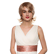 Charming Evaginate Body Natural Wavy Remy Human Hair Capless Wig for Woman
