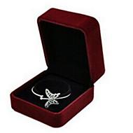 Fabric Ring Jewelry Display 5*5cm Random Color