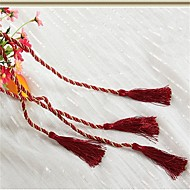 One Piece Curtain Tassel Tieback Rope Curtain Strap