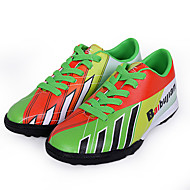Boys' Shoes Athletic PU Athletic Shoes Spring / Summer / Fall / Winter Round Toe Lace-up Blue / Green