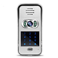 wifi, wideo-domofon dzwonek schematu willi telefonu komórkowego aplikacji zdalnego odblokowywania monitoring kamer wideo w domu