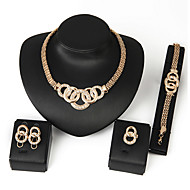 Schmuck Halsketten / Ohrringe / Ringe / Armband Halskette / Ohrringe / Set Einstellbar / bezaubernd / Geschenkboxen & TaschenHochzeit /
