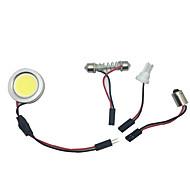 1db nagy fényerejű 10W csöves vezetett autó belső led lámpa 99% autómodellek alkalmas