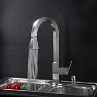 Současné / Starožitné / Secese a retro / Moderní Pull-out / Pull-down Umyvadlo na desku Vodopád / Dešťová sprcha with  Keramický ventil