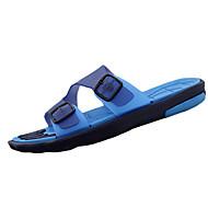 Herre-PU-Flat hæl-Komfort-Sandaler-Fritid-