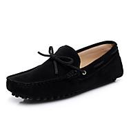 Kényelmes Könnyű talpak-Lapos-Férfi-Vitorlás cipők-Irodai Alkalmi Sportos-Fordított bőr-Kávé Tengerészkék Zöld Tengerészkék Burgundi vörös