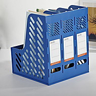 Office Dedicated Plastic Three Grid File Baskets