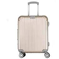 unisex kültéri fém-poggyász-lila / arany / ezüst / fukszia 24inch
