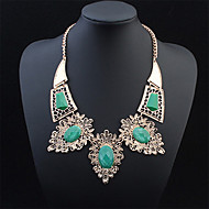 Fashion Exaggerated Large Oval Exquisite Necklace