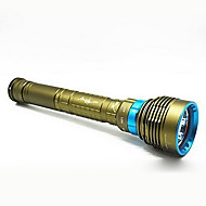 Diving LED Flashlight Outdoor Searchlight