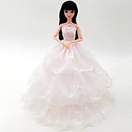Univerzális (kivéve baby) 5 ruhák esküvői ruha telezsák nagy szoknya záró esküvői ruha design 30 cm baba szoknya