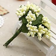 12 haara Silkki / Muovi Hedelmä Pöytäkukka Keinotekoinen Flowers