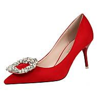 Westland® Women's Stiletto Heels / Platform / Pointed Toe / Suede New Fashion Style / Dress / Casual / Rhinestone /