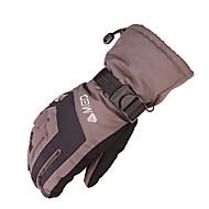 lyžařské rukavice Zimní rukavice Vše Akvitita a sport Zahřívací / Voděodolný / Odolný vůči větru Rukavice Lyže PlátnoCyklistické rukavice
