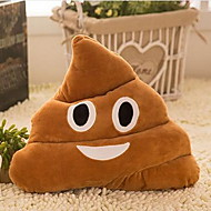 Creative Struggle Pillow Plush Toy Poo Shape Doll Gift (30cm Random Color)