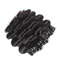 10-30inch 4 darab szűz indiai test hullám haj, nyers, feldolgozatlan szűz indiai haj