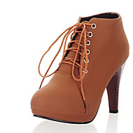 Women's Boots Spring / Fall / Winter Heels / Platform / Fashion Boots Leatherette / Casual Chunky Heel Others