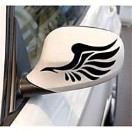 автомобиль зеркало заднего вида с легким бровью вставить светоотражающие наклейки в зеркало заднего вида автомобиля с крыльями