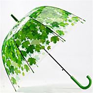 Sammenfoldet paraply Metal Plastik Silikone Klapvogn børn Rejse Dame Herre Bil