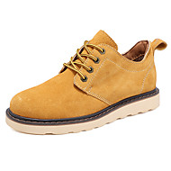 Men's Oxfords Fall Comfort Leather Outdoor / Office & Career / Casual Others Yellow / Tan / Beige Others