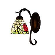 rózsa Tiffany fali lámpa 1 lámpa