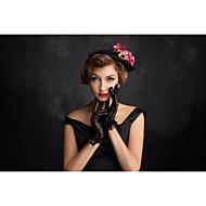 Damen Tüll Flachs Netz Kopfschmuck-Besondere Anlässe Kopfschmuck 1 Stück