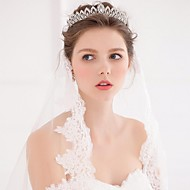 Mujer Aleación Perla Artificial Celada-Boda Ocasión especial Casual Tiaras Bandas de cabeza Coronas Herramienta para el Cabello 1 Pieza