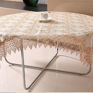 Mélange Poly/Coton Carré / Rectangulaire Nappes de table