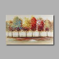 Maalattu Abstrakti Maisema öljymaalauksia,Moderni 1 paneeli Kanvas Hang-Painted öljymaalaus For Kodinsisustus
