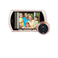 4.3 Inch Night Vision Visual Electronic Doorbell Electronic Eye Camera With Do Not Disturb