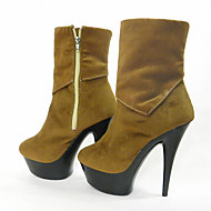 Velveteen Women's Boots  / Platform /  Wedding / Party & Evening / Dress Stiletto Heel /Fashion stage boots winter boots