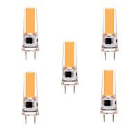 5W G8 LED Bi-pin světla T 1 COB 400-500 lm Teplá bílá / Chladná bílá Stmívací / Ozdobné AC 220-240 / AC 110-130 V 5 ks