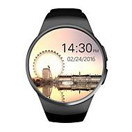 KW18 Smart Watch Android/IOS Digital-Watch Bluetooth Inteligente SIM Round Heart Rate Monitor Clock