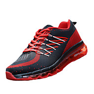Unisex Sneakers Spring / Fall Comfort Tulle Athletic Flat Heel  Blue / Red / Royal Blue Basketball