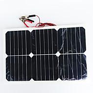 zdm® 20 wattů 12V výstup 1.35a monokrystalický křemík solární panel (dc12-18v)