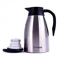 pot inoxidável qualidade do isolamento de aço café para casa (1500ml)