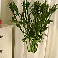 1pc 1 Ramo Isopor / Plástico Plantas Flor de Chão Flores artificiais 51.1inch/130CM