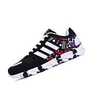 Running Shoes Men's Sneakers Spring / Winter Comfort Tulle Casual Flat Heel  Black / Blue Walking