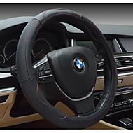 自動車のレザーステアリングホイールカバー、環境、非毒性および非刺激臭通気性のスリップ