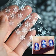 Nail Art prego etiqueta Autocolantes de Unhas 3D