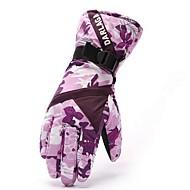 Ski-Handschuhe Vollfinger Damen Sporthandschuhe warm halten Windundurchlässig Wasserdicht GQY®Skifahren Radsport/Fahhrad Camping &
