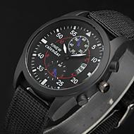Military Watches Canvas Band Men Quartz-Watch Luxury Brand XINEW Quartz Clock Male Army Wristwatch Relogio Masculino