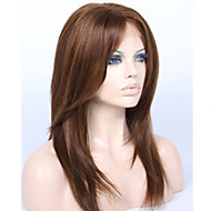 premierwigs 8 א 8 '' - 26 '' שיער שכבתי ישר ברזילאי בתולת glueless תחרה מלאה אדם פאות פאות תחרה מול glueless