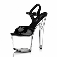 20CM sexy ultra high heel/ sandals  Women's Shoes Patent Leather Summer/Outdoor/Stiletto Heel Crystal /Multicolor