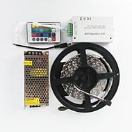z®zdm 600x5050 rgb zweireihig 120W AC110-240V zu dc12v10a Transformator und 12v / 12a 24IR Controller