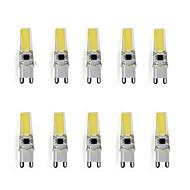 9 G9 LED Φώτα με 2 pin T 1 LED Υψηλης Ισχύος 450 lm Θερμό Λευκό / Ψυχρό Λευκό Διακοσμητικό AC 220-240 V 10 τμχ