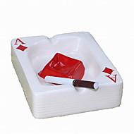 popielniczki mody creactive porcelany stylu pokera (kolor losowo)